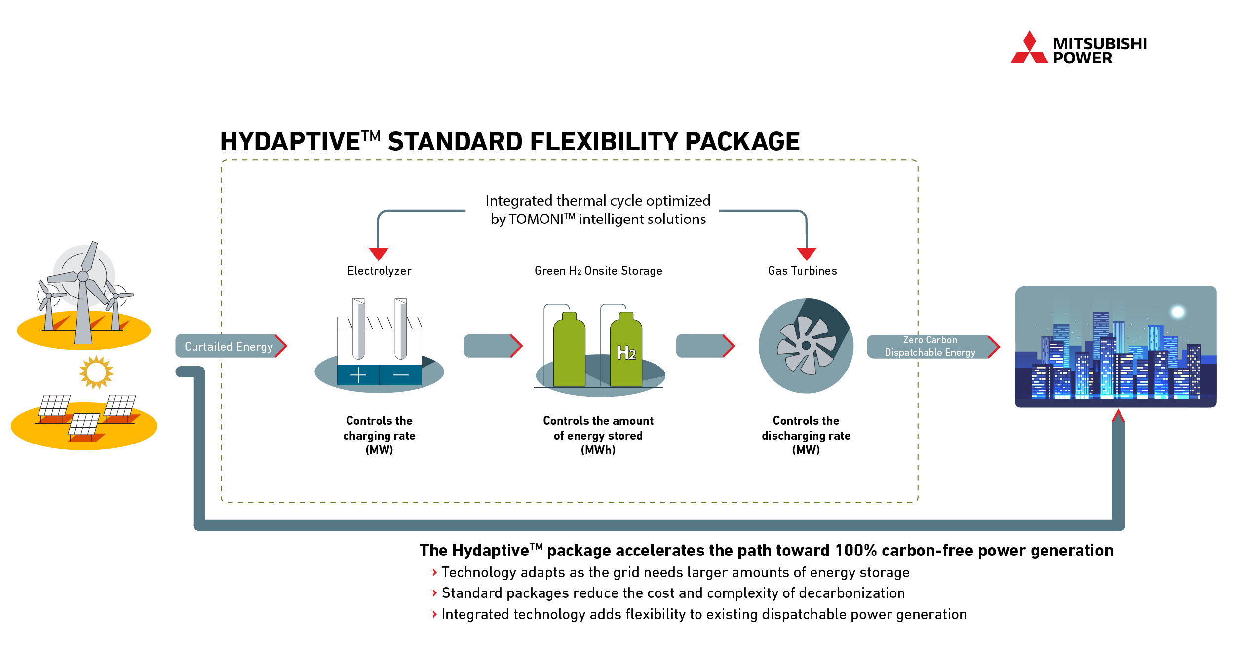 Hydaptive Standard Flexibility Package Schematic